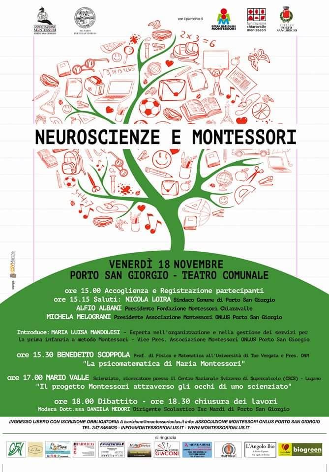 Convegno Neuroscienze e Montessori