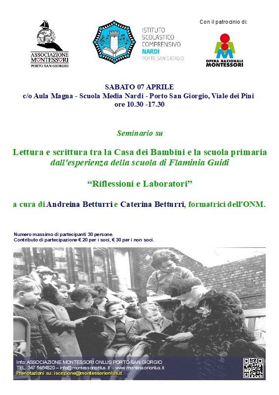 Betturri seminario su linguaggio