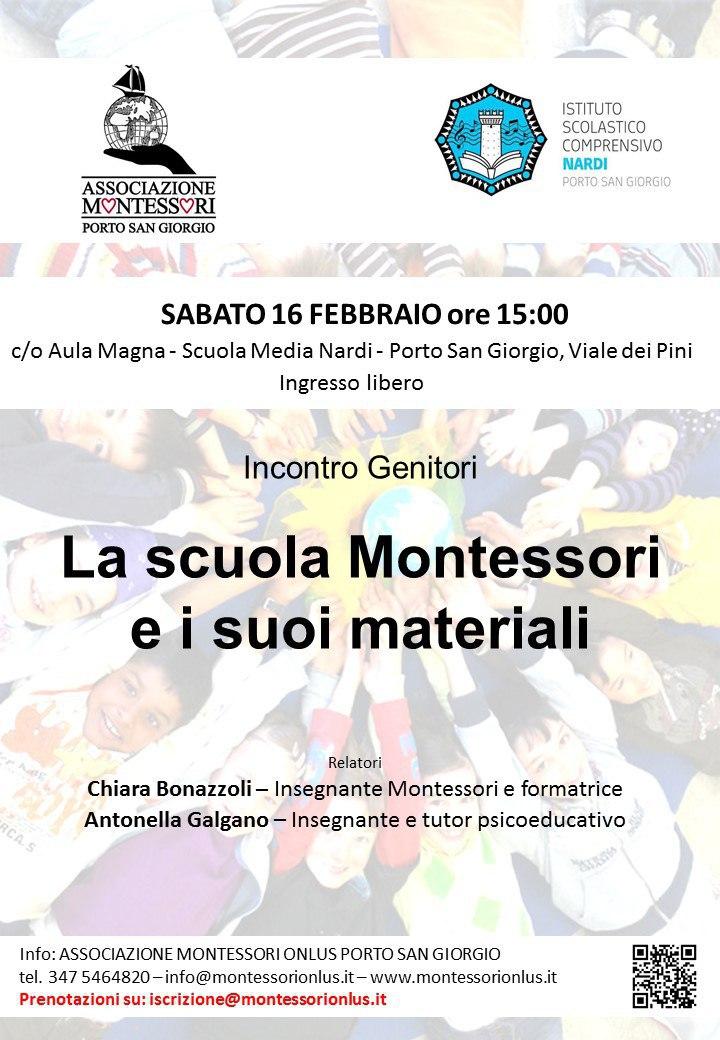 La scuola Montessori e i suoi materiali