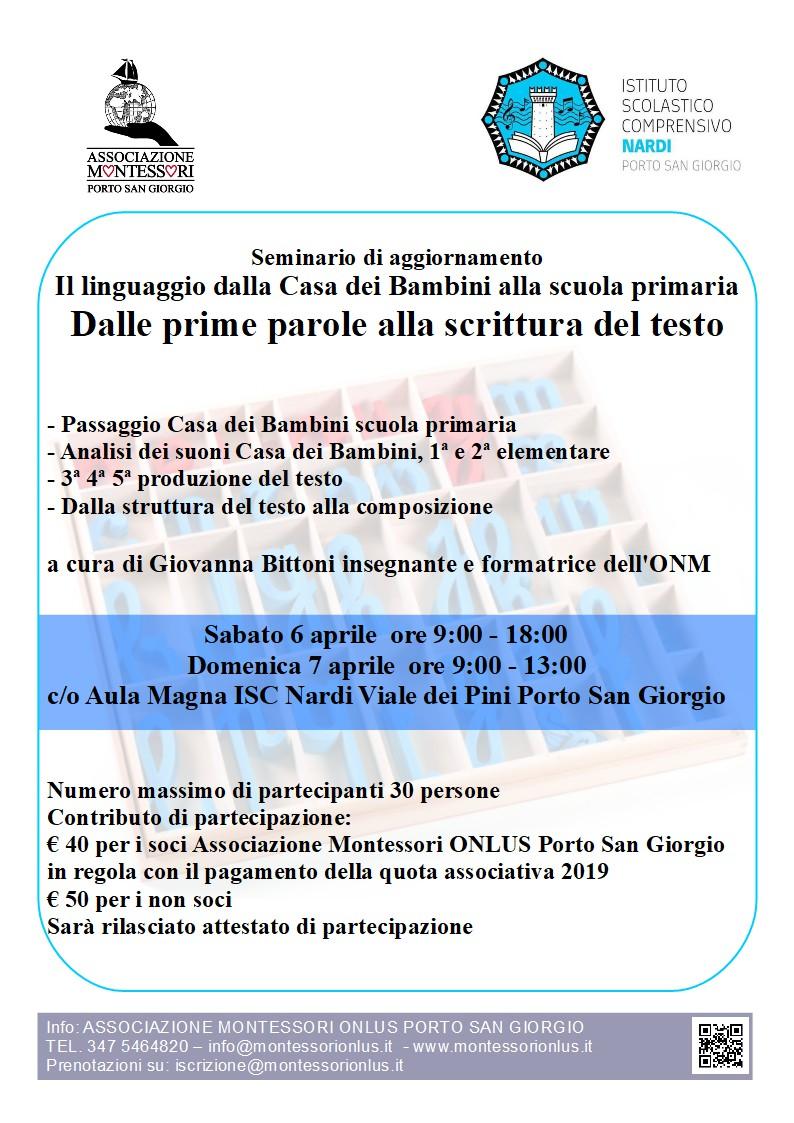 Seminario linguaggio 2019-06-04