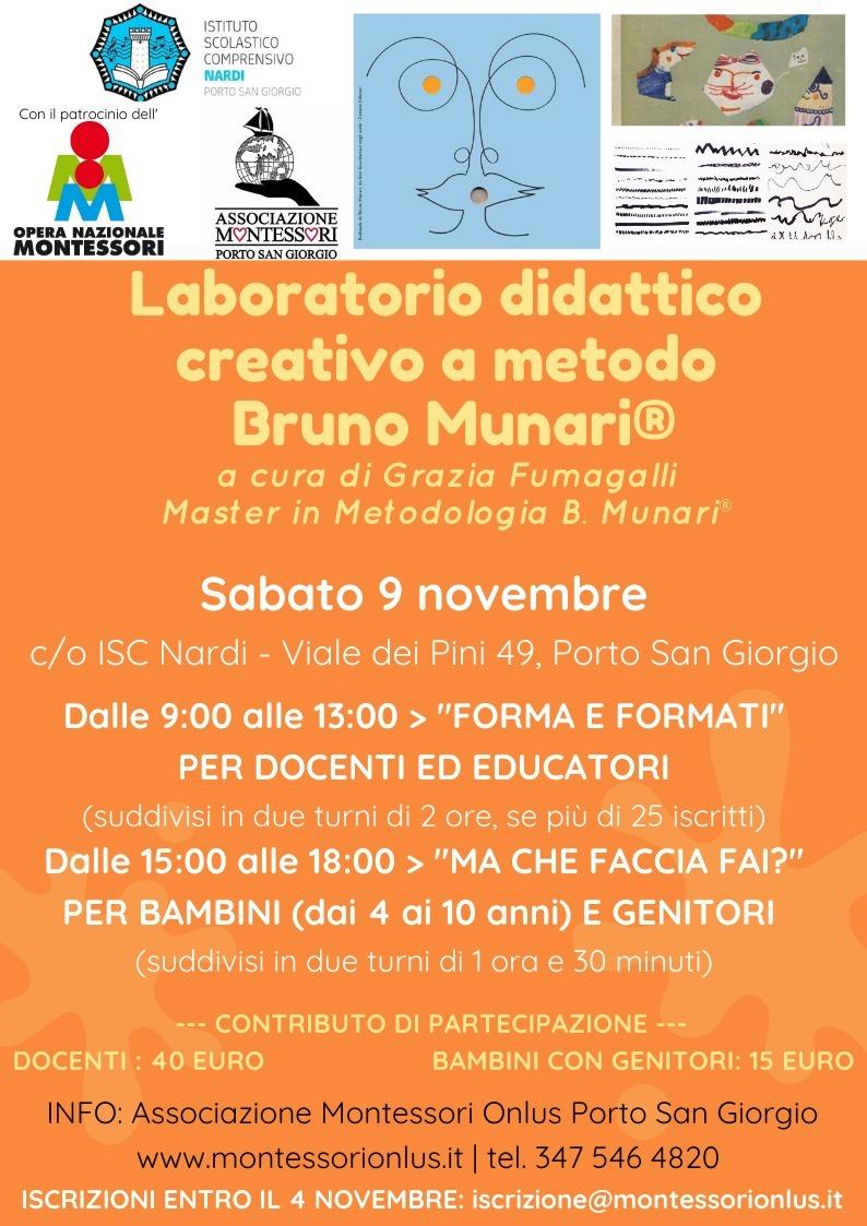 Laboratorio didattico creativo a metodo Bruno Munari